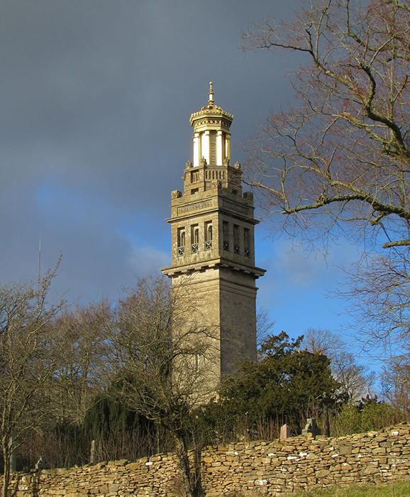 Башня Бекфорда в Бате.