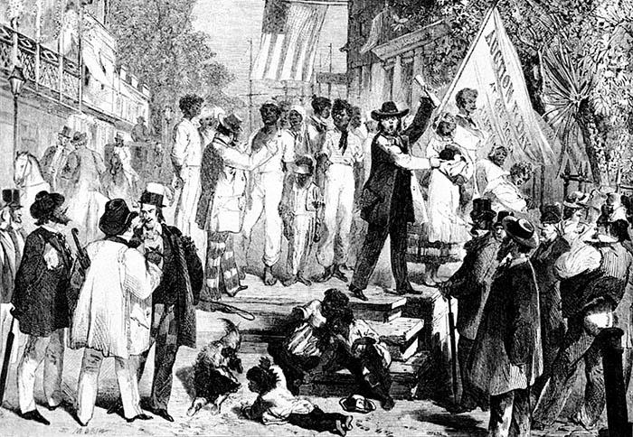 На самом деле очень мало южан были рабовладельцами?