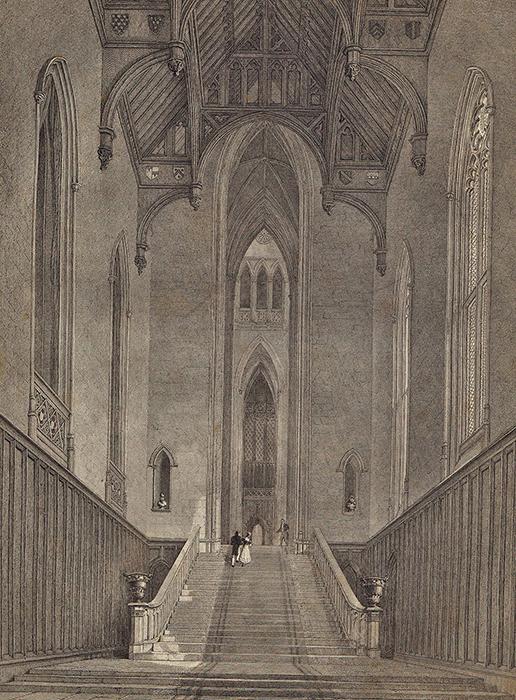 Зал аббатства Фонтхилл.