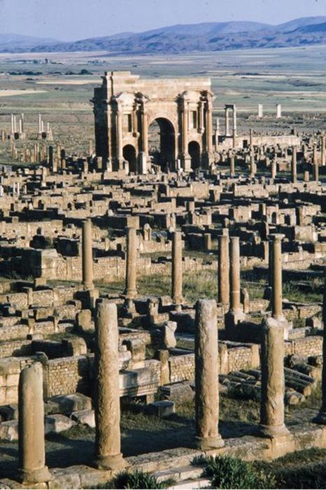 Тайны древнеримского города-призрака Тимгад
