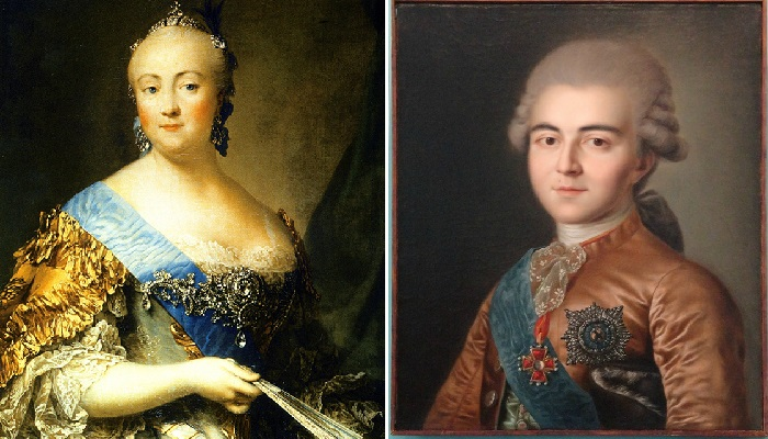 Елизавета Петровна — третья императрица всероссийская. / Алексей Григорьевич Разумовский.