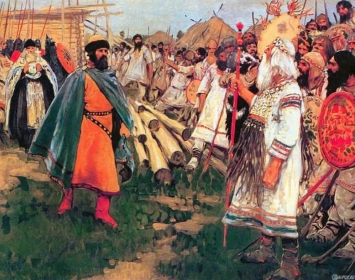 Долгое время язычники и христиане существовали параллельно. /Фото: i.obozrevatel.com