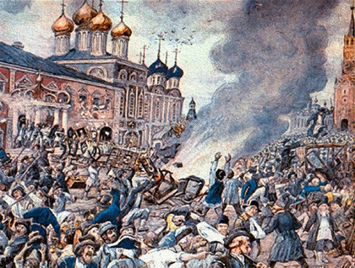 Бунт в Москве. /Фото: cdn2.img.inosmi.ru