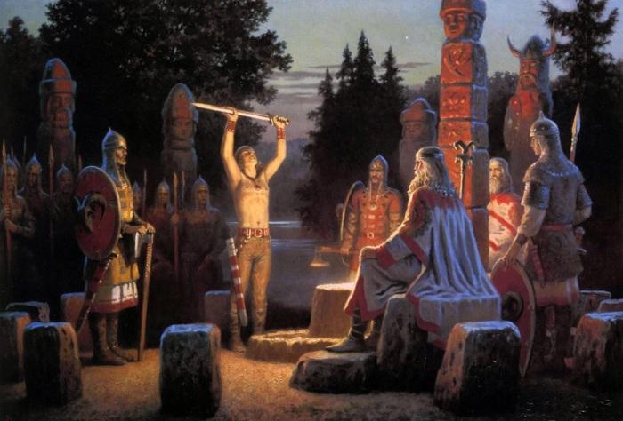 Дохристианская вера не справлялась с новой консолидирующей задачей. /Фото: avatars.mds.yandex.net