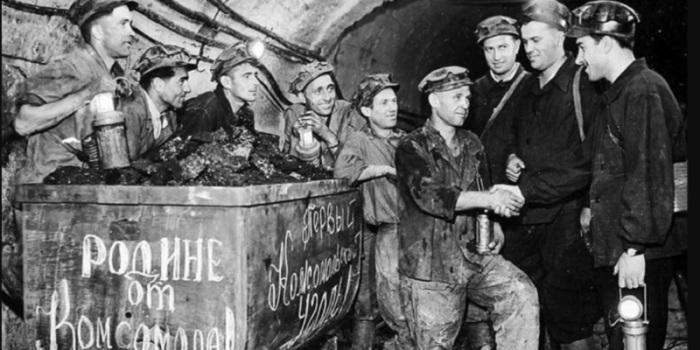 В СССР представители «вредных» профессий получали очень хорошие деньги. /Фото: s.kvushahty.ru
