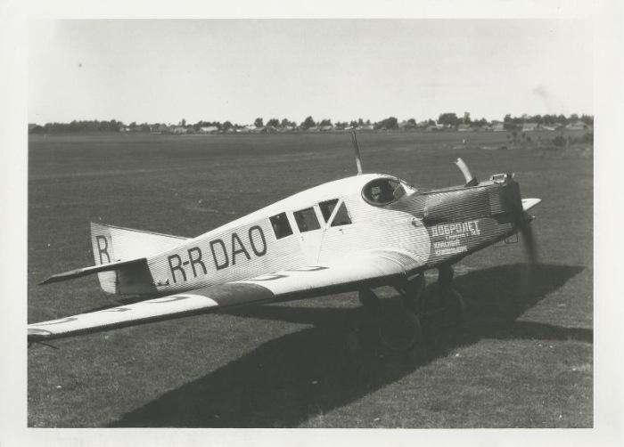 Первые самолеты «Добролета» были иностранными. /