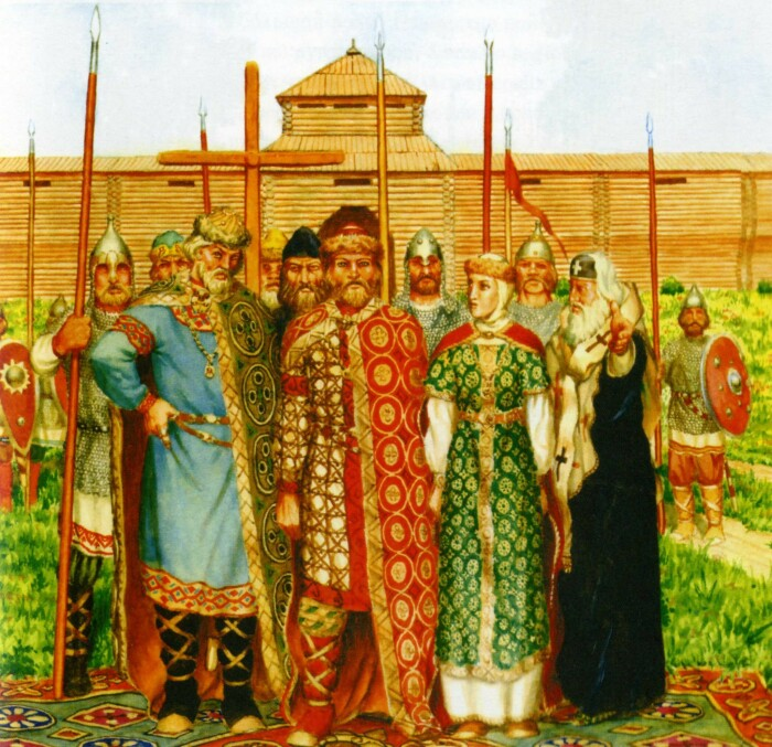 Князь Владимир ответственно подошел к выбору религии. /Фото: content-16.foto.my.mail.ru