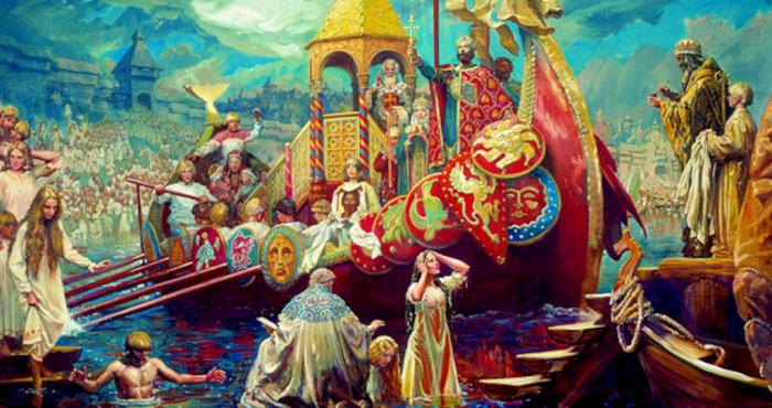 Укрепление христианства после обряда Крещения было делом времени. /Фото: im0-tub-ua.yandex.net