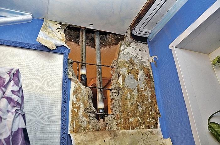 Почему в некоторых советских домах батареи вмуровывали в стены