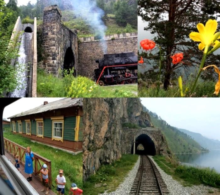 По Круглобайкальской железной дороге можно проехаться и сегодня. /Фото: livejournal.com