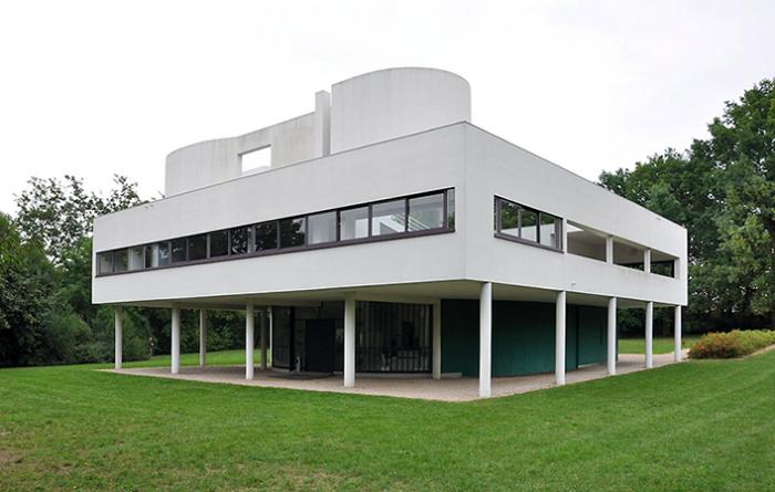 Villa Savoye, Франция – яркий пример модернизма. /Фото: cdn.kastatic.org