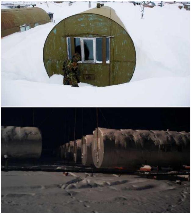 Металлические цистерны – идеальный дом для жизни в регионах с экстремально низкими температурами.
