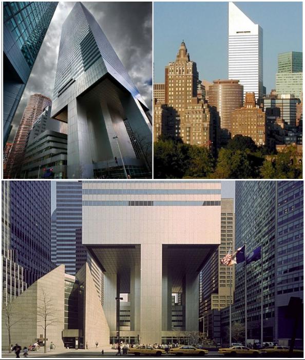 В 1977 г. небоскреб был торжественно открыт (Сiticorp Center, Манхэттен).