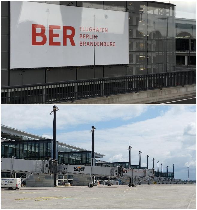 Серость и угрюмость новой воздушной гавани Берлина навевает лишь раздражение у местных жителей за бесцельно потраченные деньги.