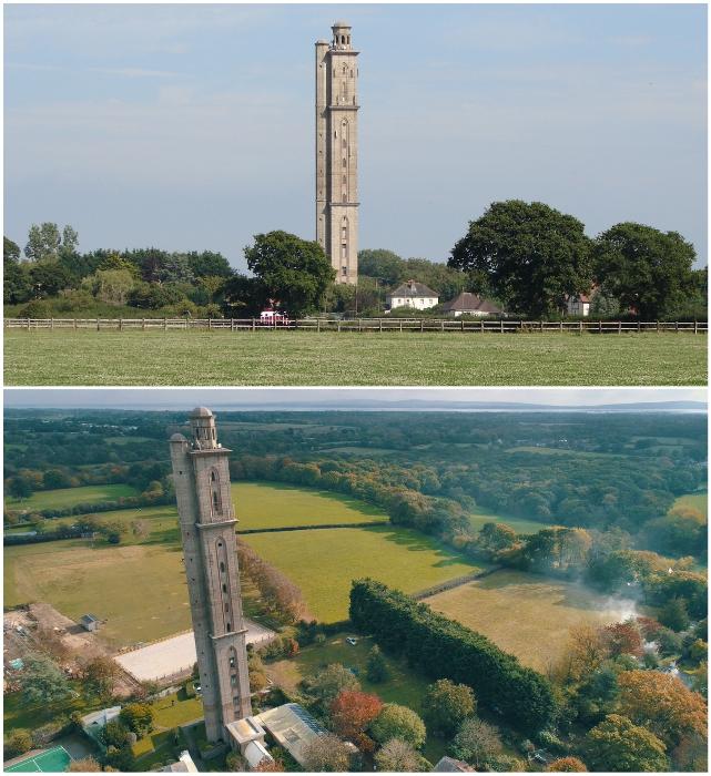 «Sway Tower» – самое высокое неармированное сооружение в мире. | Фото: nottinghampost.com/ cobbies69.wordpress.com.