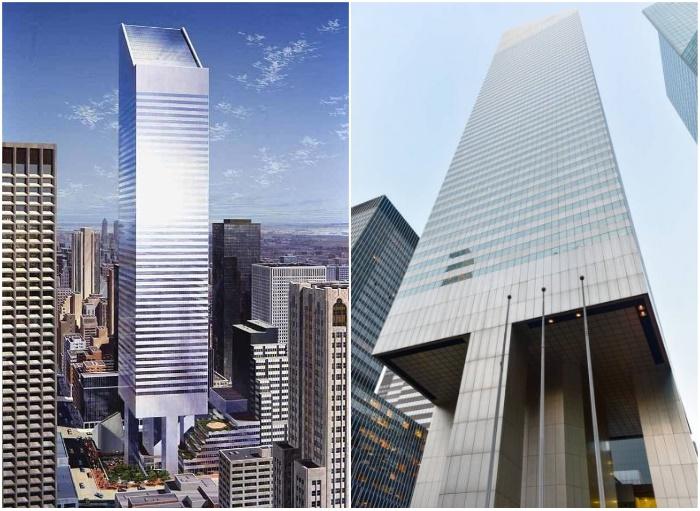 Фатальная ошибка в проектировании «левитирующего» небоскреба чуть не привела к грандиозной катастрофе (Сiticorp Center, Манхэттен).
