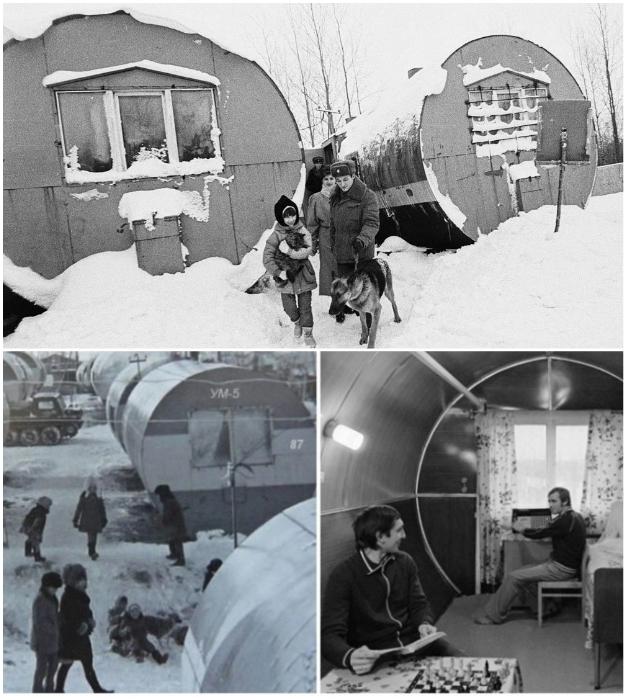 Первые ЦУБы были мечтой северян, которым приходилось жить в неприспособленных для холодов вагончиках.