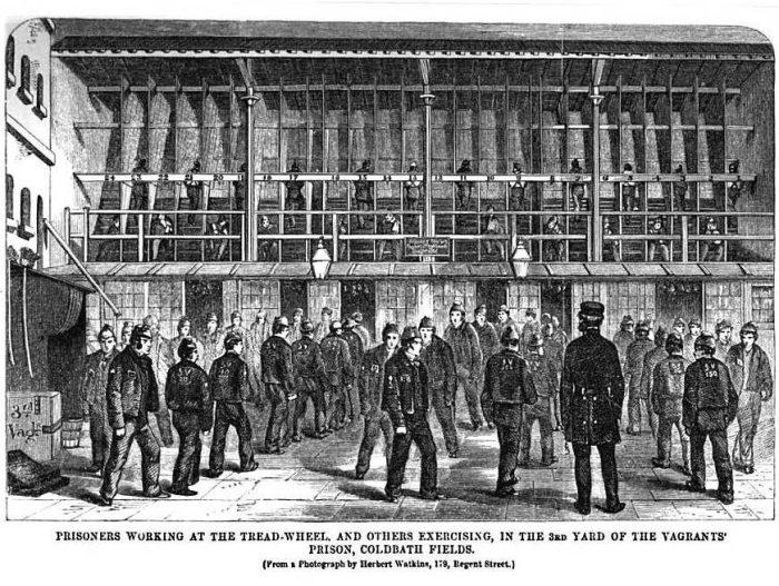Почему в Великобритании беговые дорожки были одним из самых жестоких наказаний в тюрьмах прошлого