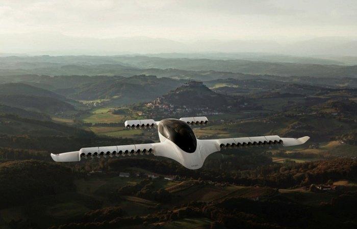 36 двигателей в концепте воздушного такси Техника,Авиация