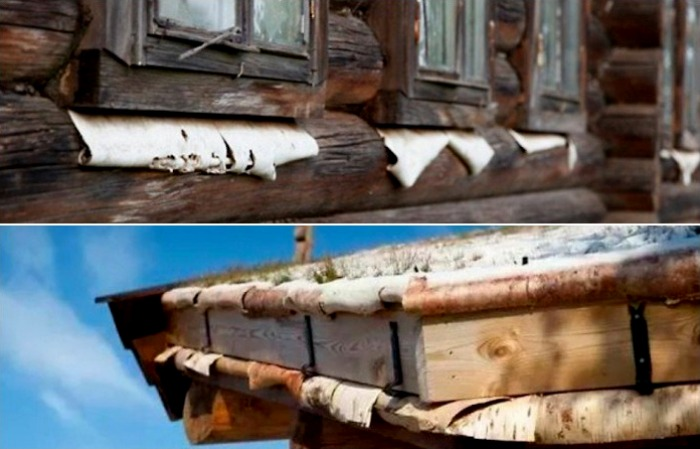 Береста - отличная гидроизоляция. /Фото: re-st.ru