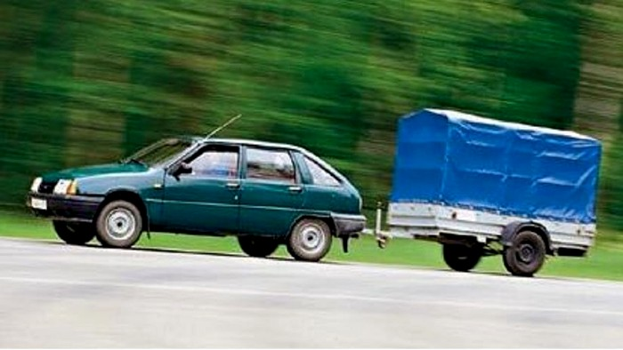С прицепом не все так просто. /Фото: youtube.com