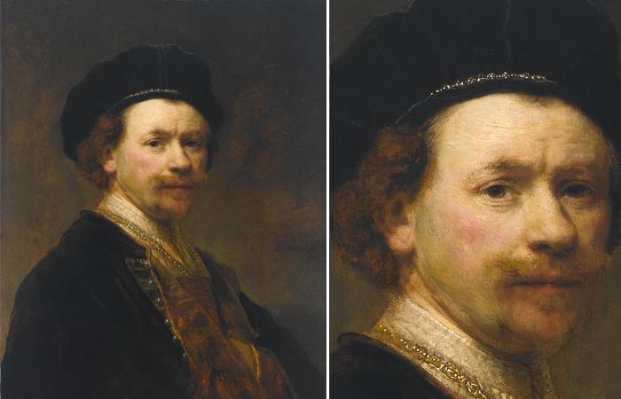 Автопортрет 1636–1638 годов