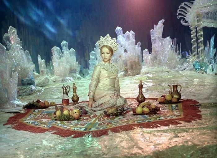 Кадр из фильма *Руслан и Людмила*.