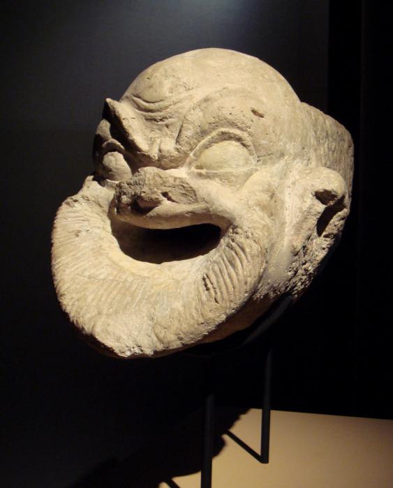 Эллинистическая горгулья из Ай-Ханума, Бактрия, 2 век до н. э. \ Фото: museumsyndicate.com.