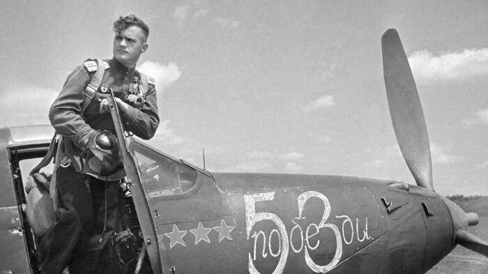 Советские асы сбивали немало самолетов. |Фото: ava.org.ru.