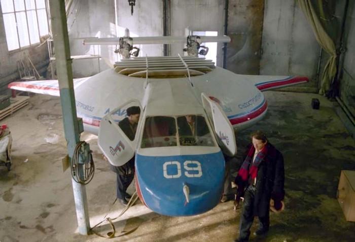 «Бэлла-1» в ангаре. /Фото: airwar.ru