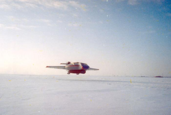 Уникальный самолет, способный сесть на любую поверхность. /Фото: tumenecotrans.ru