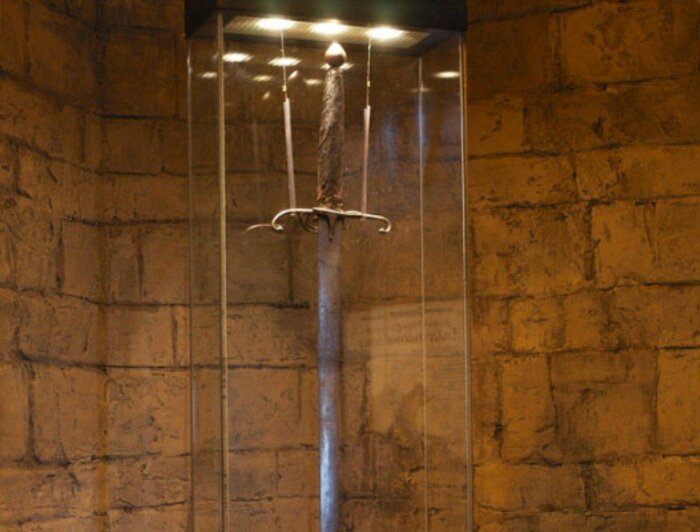 Этот меч появился только в 16 веке. ¦Фото: Twitter.