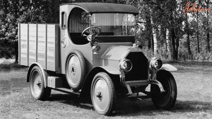 Первым грузовиком с генератором был FIAT 15 Ter / Фото: etoretro.ru