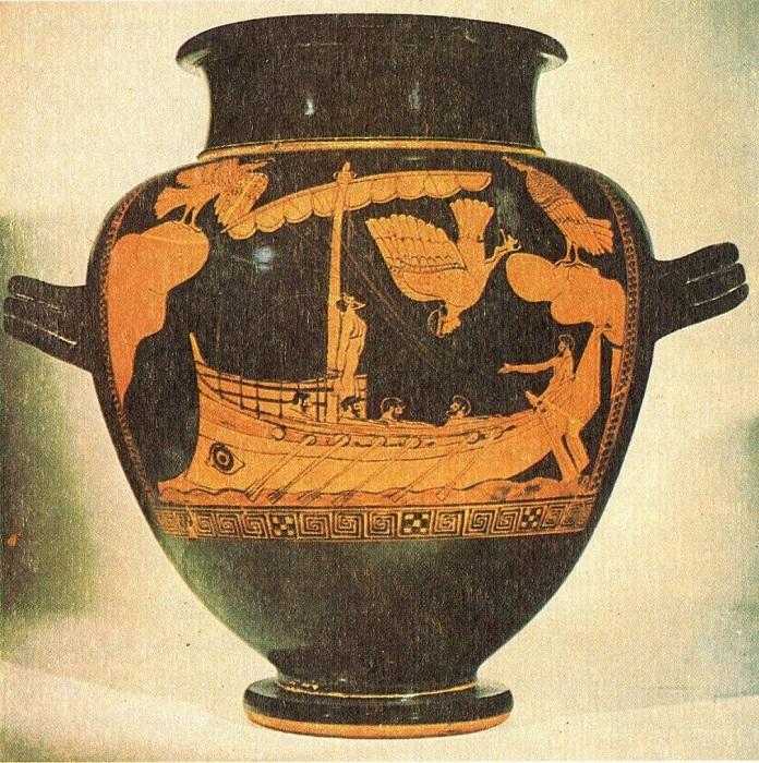 С точки зрения древних греков, несмотря на всю героику, полны были острот и *Илиада* с *Одиссеей*.