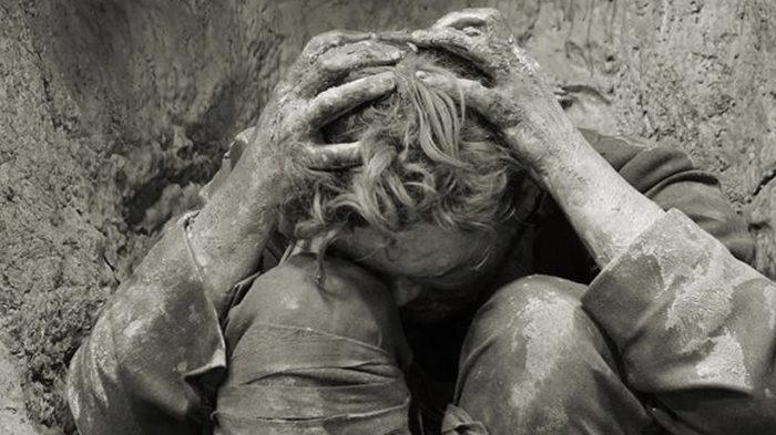 Контузия - страшная и очень распространенная травма во время войны.  Фото: lavozdegalicia.es.