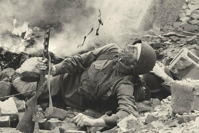 Чаще всего контузия случается после поражения взрывом.  Фото: yandex.com.