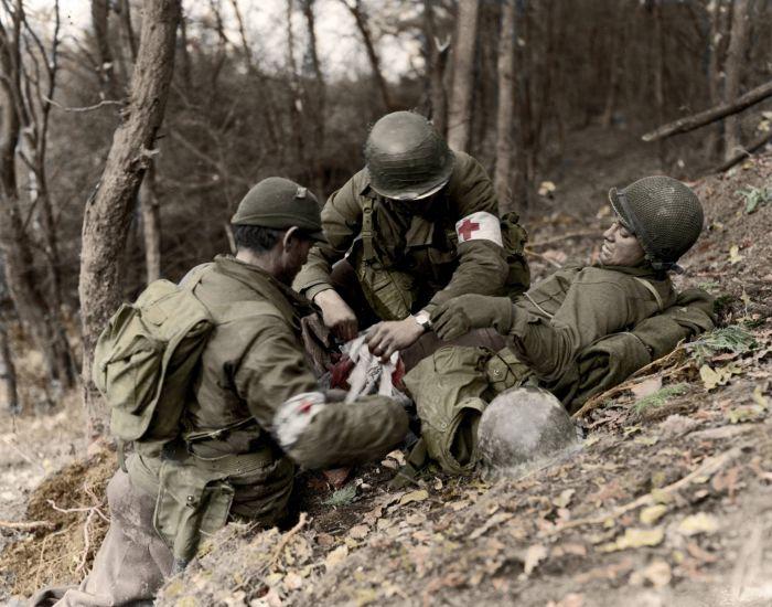 Контузия - спутница войны.  Фото: forum.na-svyazi.ru.
