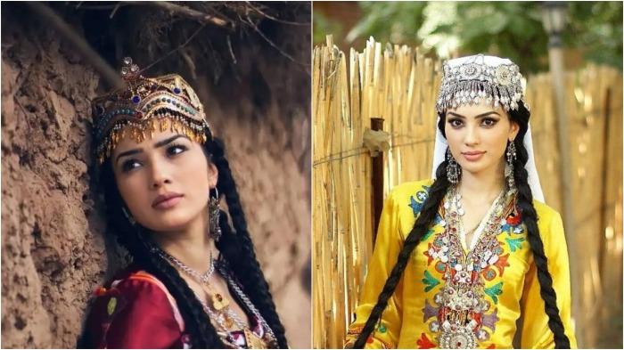 До того момента, пока девушка не выходила замуж, у нее было сорок косичек, после замужества – две / Фото: funik.ru
