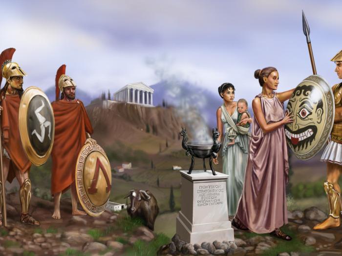 Общество Спарты пришло в упадок. /Фото: livejournal.com.