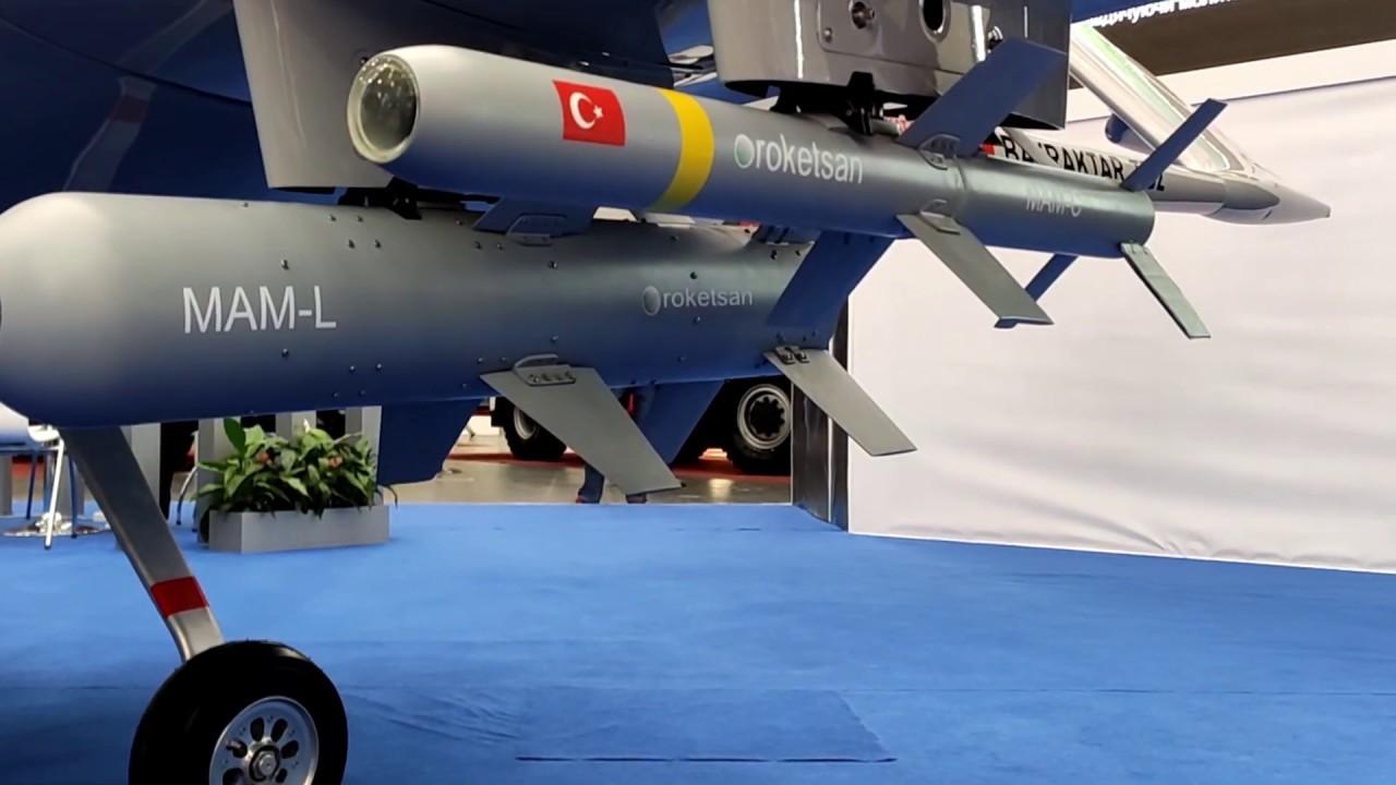 Ударный турецкий беспилотник Bayraktar TB2 Турция,Оружие