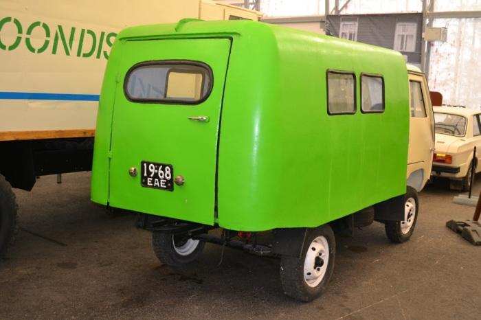 Новый грузовичок был оснащен двигателем от  Запорожца / Фото: drive2.com