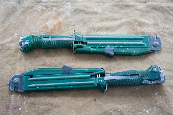 Нож для разведчиков и спецназа. /Фото: zakaddafi.ru.