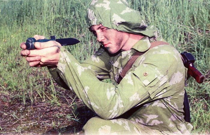 Советский нож-пистолет Оружие