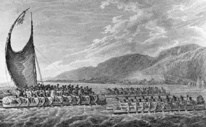 Маори отважно на своих каноэ пускались в длительные плавания по океану. / Фото: wikipedia.org