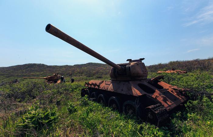 Остров погибших танков Остров,Заброшенное