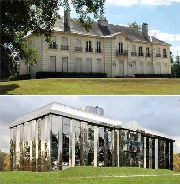 Тот же замок, только вид сбоку (Cultural Park Rentilly, Bussy-Saint-Martin).
