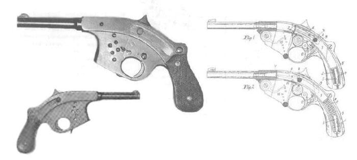 Один из самых странных пистолетов в истории. |Фото: armedconflicts.com.