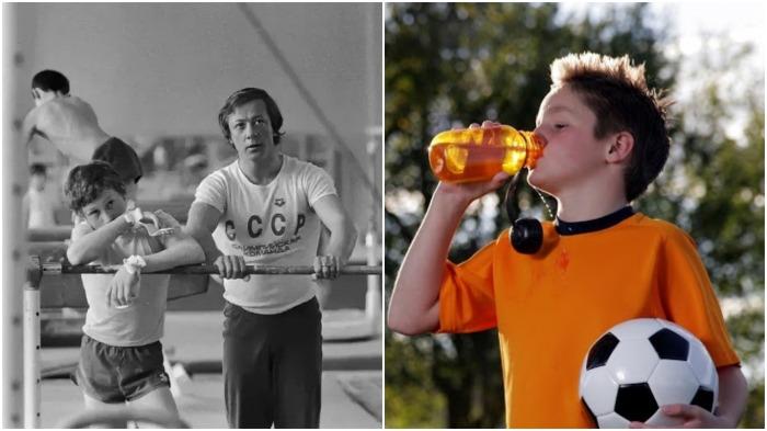 Почему в СССР запрещали пить воду во время и сразу после тренировки