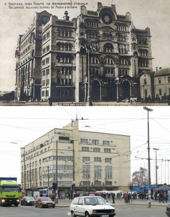 Старая почта в Белграде многие десятилетия была визитной карточкой города, чего не скажешь о ее современной версии (Сербия). | Фото: ba-bamail.com.