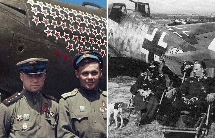 Почему немецкие асы сбили больше, чем советские летчики? Война